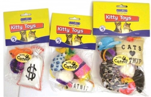 MARLTONS PLAY PACK WITH CATNIP 5PK
