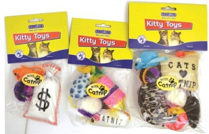 MARLTONS PLAY PACK WITH CATNIP 7PK