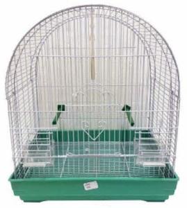 DARO OVAL TOP BIRD CAGE ASSTD. 35.9X29.5X45.5CM