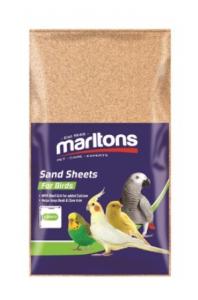 MARLTONS SAND SHEETS SMALL 6PK 21X32.5CM