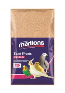 MARLTONS SAND SHEETS MEDIUM 6PK 25X40CM