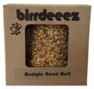 BIRRDEEEZ BUDGIE SEED BELL 12.5X11X10CM