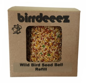 BIRRDEEEZ WILD BIRD SEED BELL REFILL 12.5X11X10CM