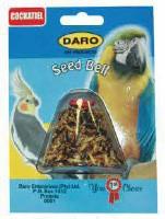 DARO COCKATIEL & PARROT SEED BELL 6X6.5X7CM