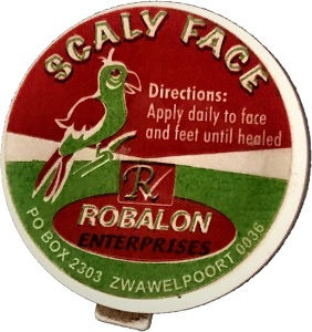 ROBALON SCALY FACE OINTMENT 15ML