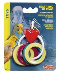 LIVING WORLD HEART RING OF RINGS SMALL