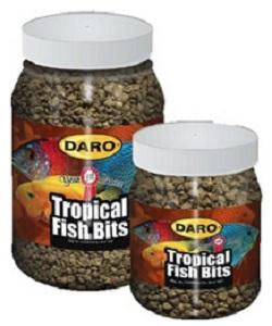 DARO TROPICAL FISH BITS 150G
