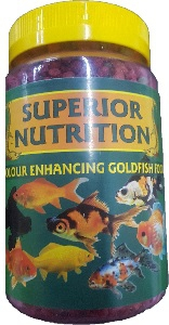 SUPERIOR NUTRITION GOLDFISH COLOUR ENHANCING 400G