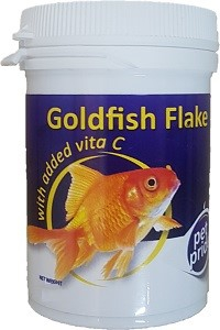 PET PRIDE GOLDFISH FLAKE 90G