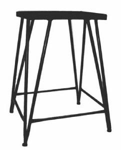 DARO AQUARIUM STAND BLACK 61.5X32.5CM