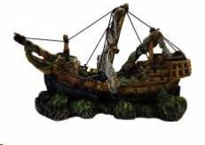AKWA DECOR SHIPWRECK 29X11X17.5CM