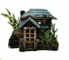 AKWA DECOR SUSHI HUT 15.7X10.8X11.2CM