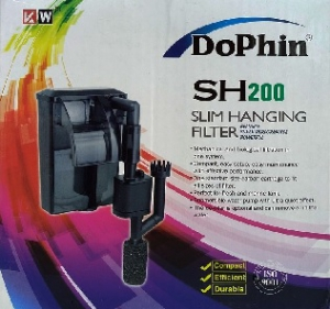 DOPHIN EXTERNAL SLIM HANGING FILTER SH-200 150L