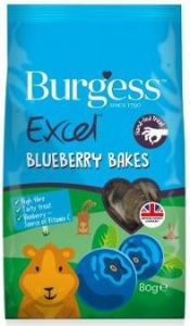 BURGESS EXCEL BLUEBERRY BAKES 80G