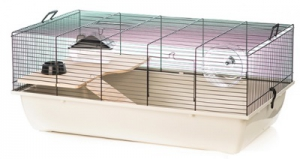 BEEZTEES RODENT CAGE TOMMY WOOD 78X48X33CM