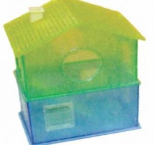 DARO HAMSTER HOUSE 2-TIER PLASTIC SMALL 13X8X17CM