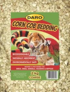 DARO CORN COB BEDDING COARSE 2KG
