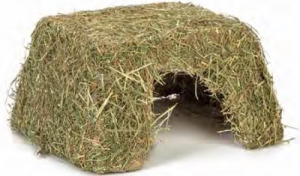 BEEZTEES RODENT HAY HOUSE SMALL 30X25X17CM