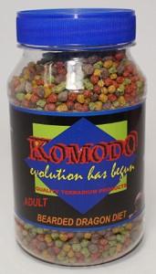 KOMODO ADULT BEARDED DRAGON FOOD 240G
