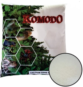 KOMODO CALCIUM SAND WHITE SUBSTRATE 5KG