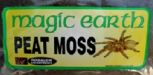 MAGIC EARTH SPIDER PEAT MOSS SUBSTRATE 1KG