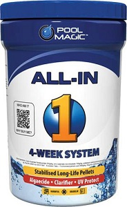 POOL MAGIC EVOLUTION ALL-IN-ONE 4-WEEK SYSTEM 2KG