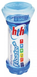 HTH PLUS STABILISED CHLORINE FLOATER 1.6KG