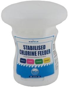 EVERBLUE STABILISED CHLORINE FEEDER FLOATER 600G