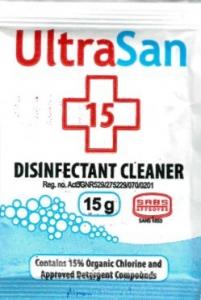 ULTRASAN DISINFECTANT SACHET 15GR