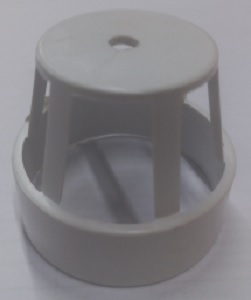 QUALITY FILTER AIR DUCT VENT WHITE 50MM