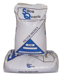 QUALITY FILTER POOL SILICA QUARTZ 1.1MM 40KG