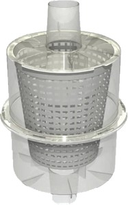 IPP IN-LINE LEAF CATCHER/CANISTER