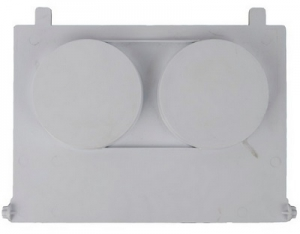 QUALITY WEIR FLAP SMALL WHITE