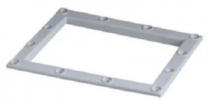 QUALITY WEIR LINER FACE PLATE WHITE