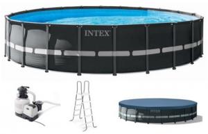 INTEX EASY SET POOL WITH PUMP 305X76CM