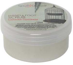 SPOIL YOURSELF HAND/FOOT SCRUB LAV & S/MINT 125ML