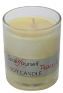 SPOIL YOURSELF SOY CANDLE PEACE & QUIET 180G