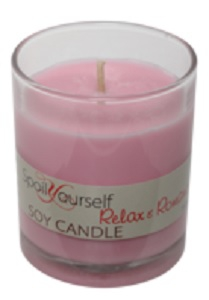 SPOIL YOURSELF SOY CANDLE RELAX & ROMANCE 180G