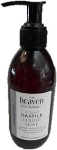 HEAVEN LIQUID CASTILE SOAP UNFRAGRANCED 200ML