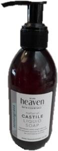 HEAVEN LIQUID CASTILE SOAP LEMONGRASS 200ML