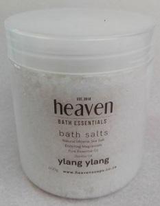 HEAVEN BATH SALT YLANG YLANG 450ML
