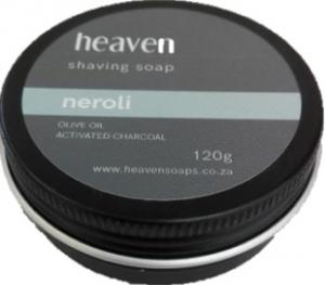HEAVEN SHAVING SOAP TIN NEROLI 120G