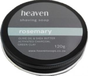 HEAVEN SHAVING SOAP TIN ROSEMARY 120G