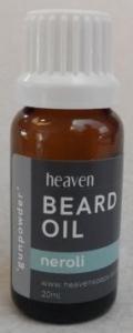 HEAVEN GUNPOWDER BEARD OIL 20ML