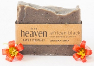 HEAVEN AFRICAN BLACK SOAP 100G