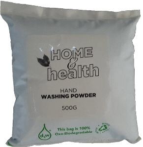 HOME & HEALTH HAND WASHING LAUNDRY POWDER  500G
